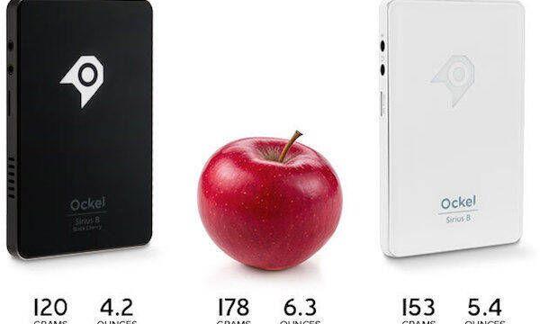 Ockel Sirius B, un miniPC del tamaño de un móvil y el peso de una manzana
