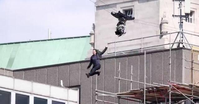 Tom Cruise se rompe un tobillo en el rodaje de Misión: Imposible 6