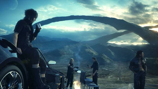 Así se ve Final Fantasy XV en PC con una gráfica NVIDIA