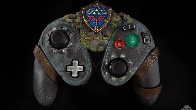 Construyen un precioso mando de Zelda a partir de un Fight Pad de Wii U