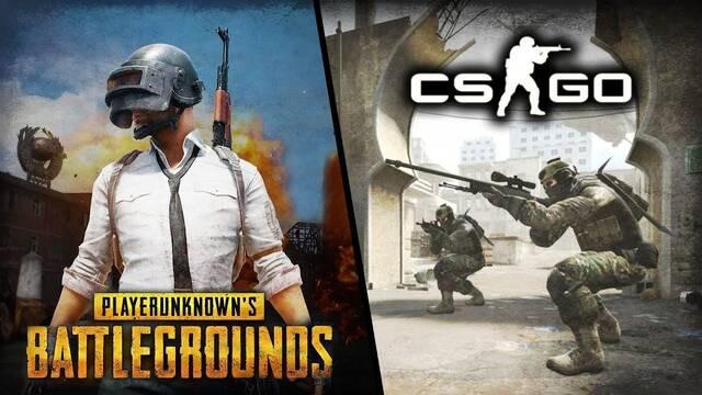 CS:GO pierde jugadores que migran a PUBG