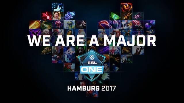 ESL One Hamburg será el primer major de DOTA 2 de la temporada 2017-2018
