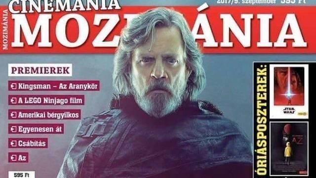 Luke Skywalker muestra su oscuro aspecto de Star Wars: Episodio VIII