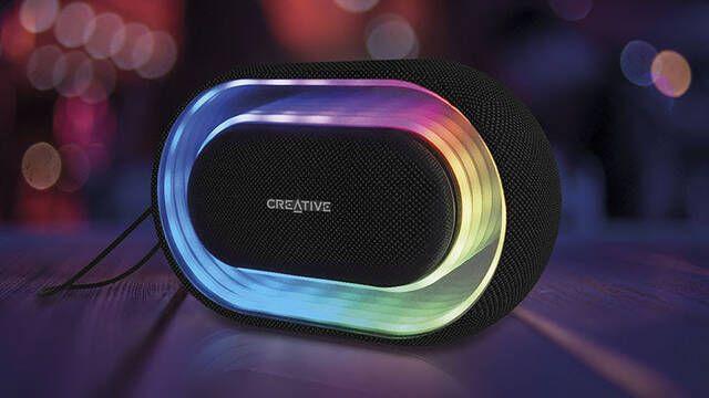 Creative lanza Halo, un altavoz portátil Bluetooth con iluminación LED de 16,8 millones de colores