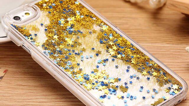 Retiran varias fundas con purpurina para iPhone  por causar quemaduras químicas