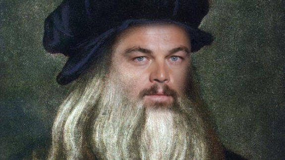¿Por qué DiCaprio se llama Leonardo?