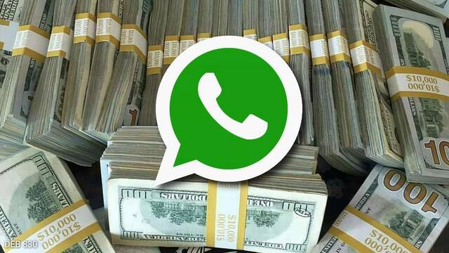 Whatsapp prepara su herramienta para enviar dinero entre contactos