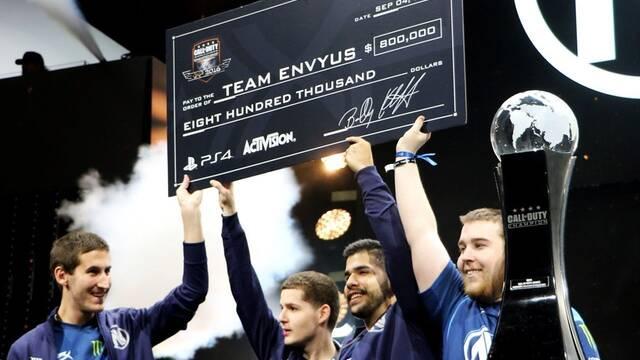 El momento en el que EnVyUs gana el mundial de Call of Duty y 800.000 dólares