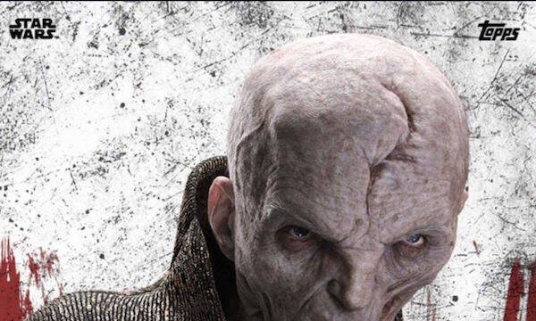 El Líder Supremo Snoke de Star Wars se muestra en una nueva imagen