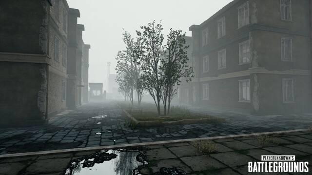 PUBG nos muestra las primeras imágenes de sus mapas con niebla
