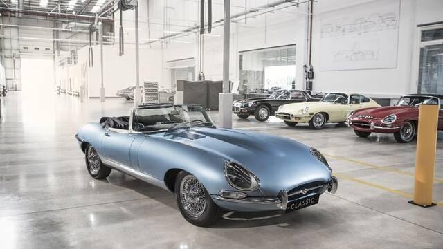 El E-type Zero de Jaguar es el coche eléctrico más bonito hasta la fecha