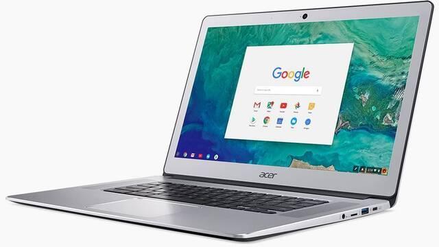 El nuevo Chromebook 15 de Acer presume de pantalla y batería