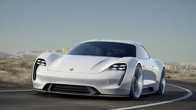 Mission E será el primer coche eléctrico de Porsche