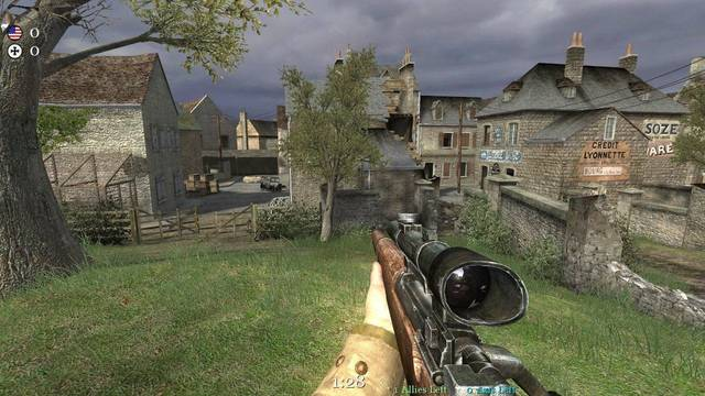 Rumor: El mapa Carentan de Call of Duty 2 volverá en Call of Duty: WWII en forma de bónus