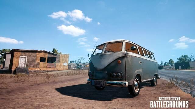 El nuevo vehículo de PUBG luce como una vieja furgoneta de Volkswagen
