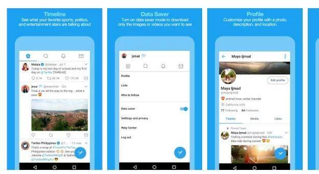Twitter estrena Twitter Lite, la versión ideal para consumir menos datos