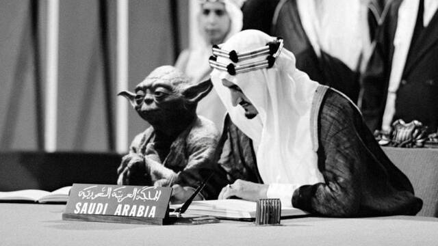 Yoda aparece por error en los libros de texto de Arabia Saudí
