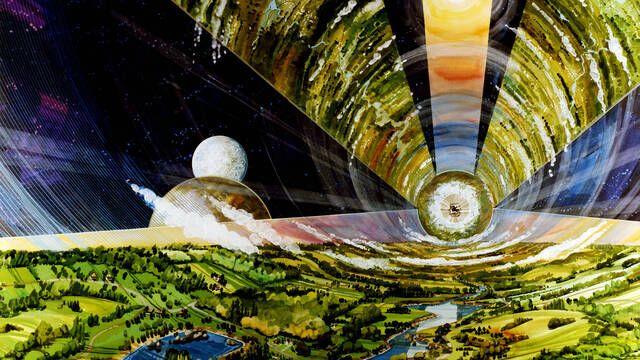 En los 70 la NASA diseñó estas increíbles colonias espaciales de 200 mil millones de dólares