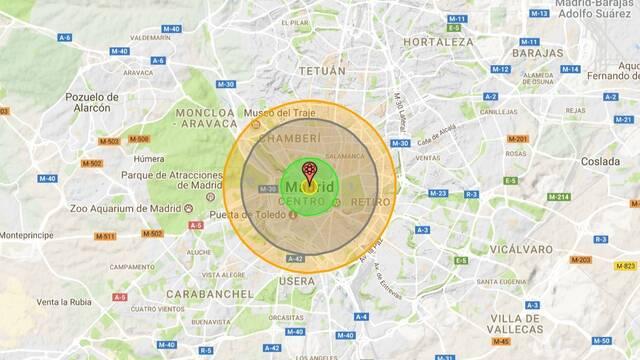 ¿Cuántos daños causaría una bomba nuclear en tu ciudad?