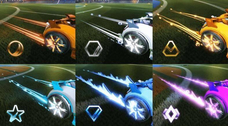 Resultado de imagen para Estas son las recompensas de la cuarta temporada de Rocket League.