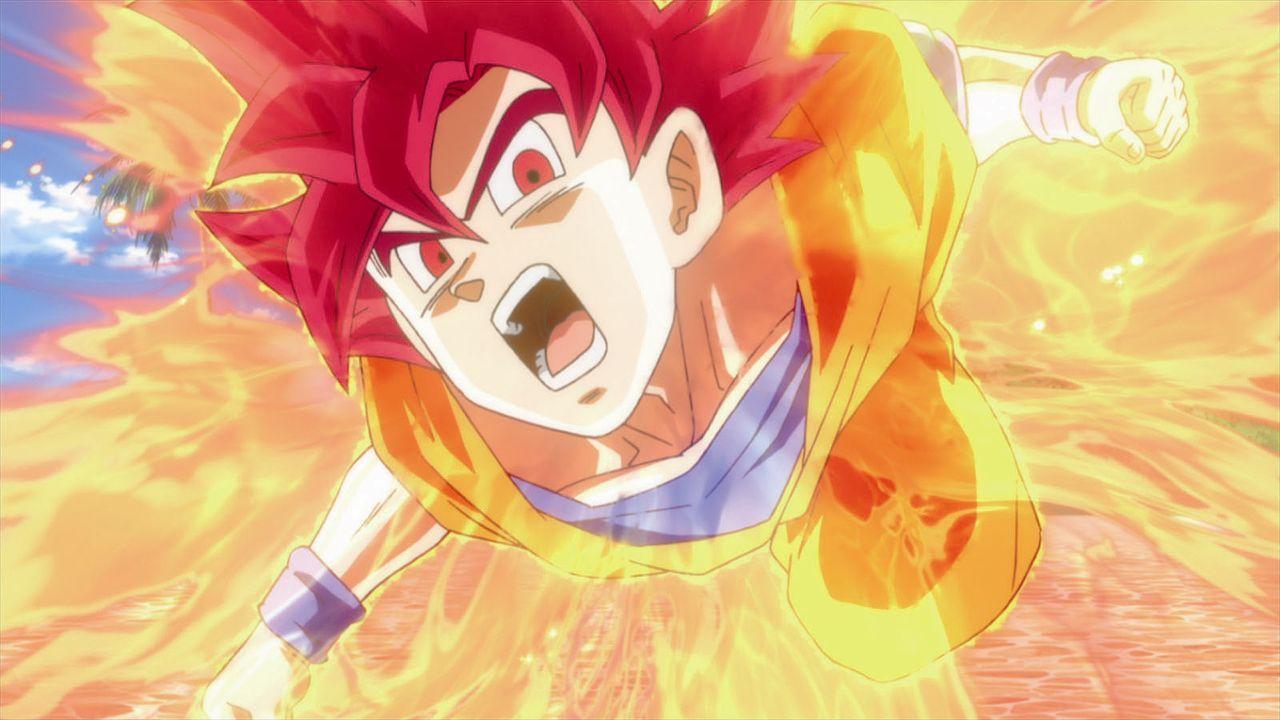 Son Goku Super Saiyan God