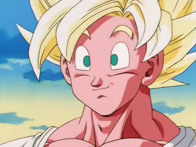 Son Goku Super Saiyan Full Power