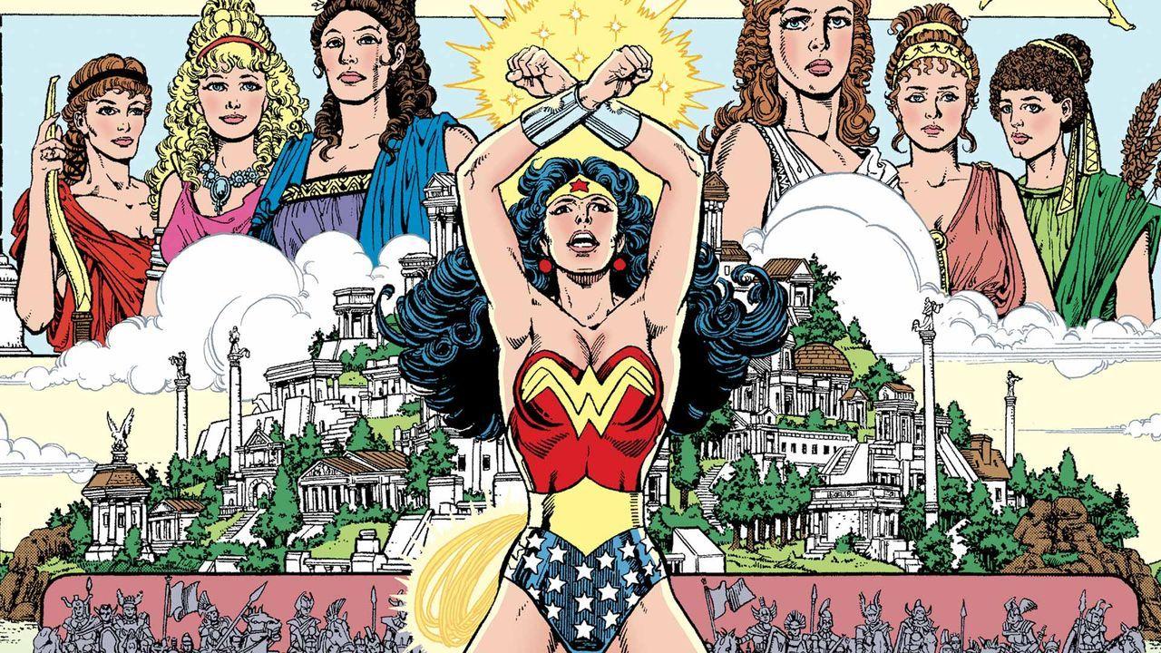 Grandes Autores de Wonder Woman: George Pérez - La mujer maravilla