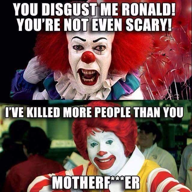It vs McDonald