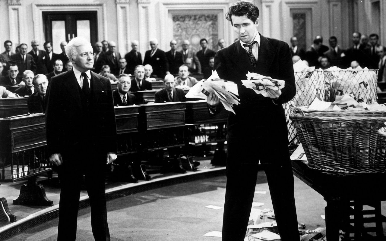Películas que ver en Netflix - Mr. Smith goes to Washington (1939)