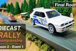 Esta épica carrera de coches en miniatura es lo mejor que verás hoy