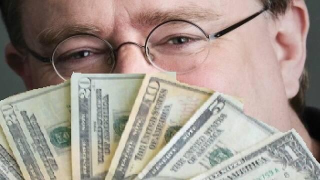 Gabe Newell, dueño de la desarrolladora de DOTA 2 y CS:GO, tiene una fortuna de 4100 millones de dólares