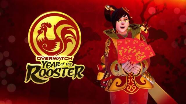 Overwatch anuncia Year of the Rooster su nuevo evento con skins para D. Va y Mei