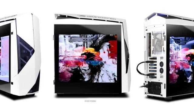 Snowblind, el ordenador de iBuyPower que revoluciona el mercado con una pantalla… ¡en su propia caja!