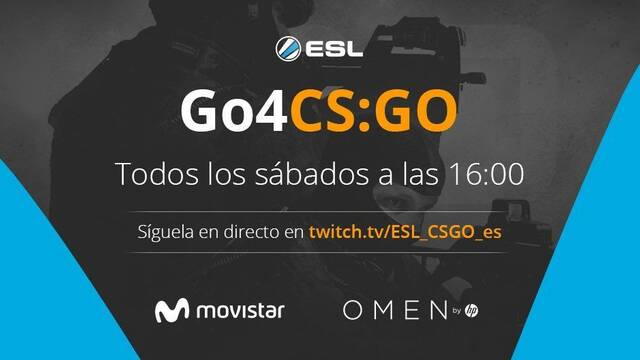 Omen by HP Go4CS:GO, la nueva copa amateur de CS:GO organizada por ESL, HP y Movistar
