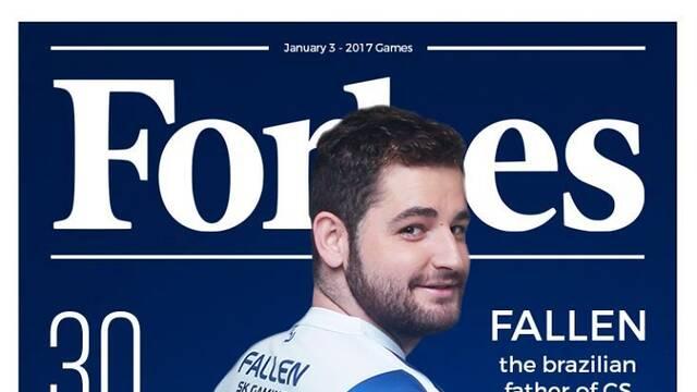 Fallen, Hungrybox o Reginald, en la lista de las 30 personalidades de los videojuegos de la revista Forbes