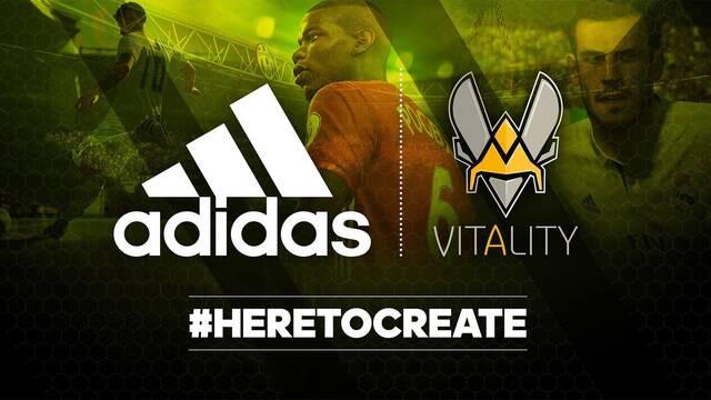 Adidas se convierte en el nuevo patrocinador de Team Vitality