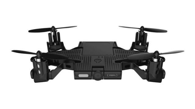 CES 2018: SELFLY, la carcasa para móviles que se convierte en un dron