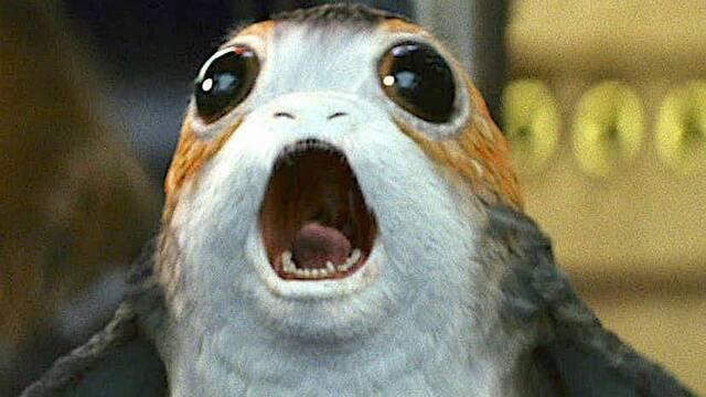 'Star Wars: Los Últimos Jedi' es la película que más extraterrestres tiene