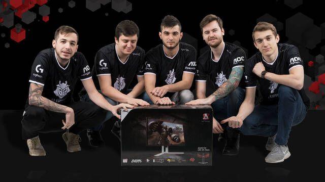 AOC se convierte en el nuevo patrocinador de G2 Esports