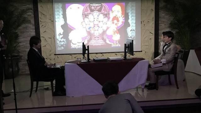 Un jugador profesional celebra combates de exhibición de Street Fighter durante su boda