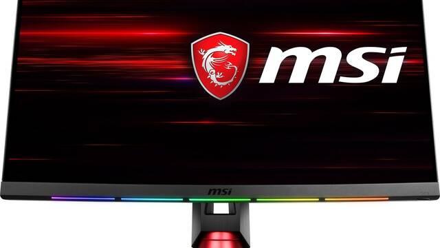 El nuevo monitor de 144Hz de MSI incluye un sistema de iluminación RGB