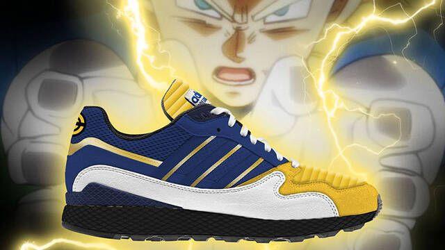 Confirmado: Goku y Vegeta también cuentan con sus propias zapatillas Adidas