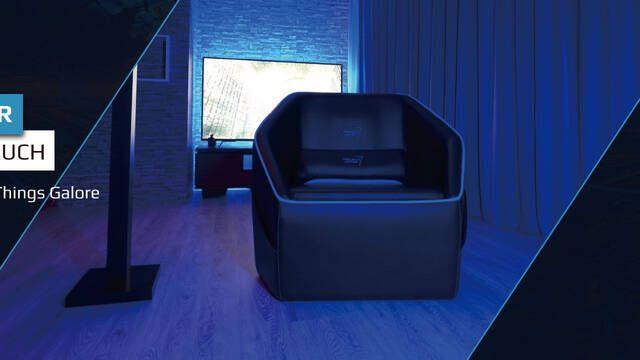 Llega el nuevo sofá gaming de AeroCool para el salón