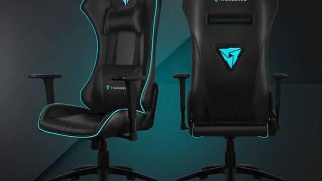 UC5, la silla gamer con iluminación RGB extraíble