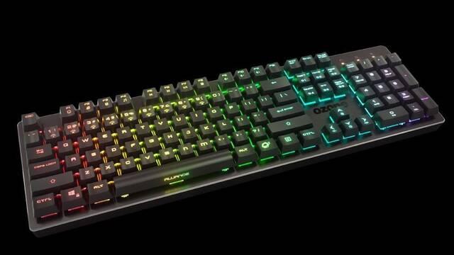 Alliance, el nuevo teclado semi-mecánico de Ozone resistente al agua