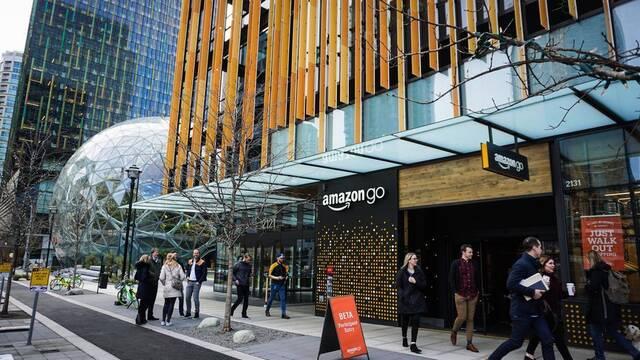 """Amazon Go: el """"súper"""" de Amazon controlado por cámaras en el que no pasas por caja para pagar"""