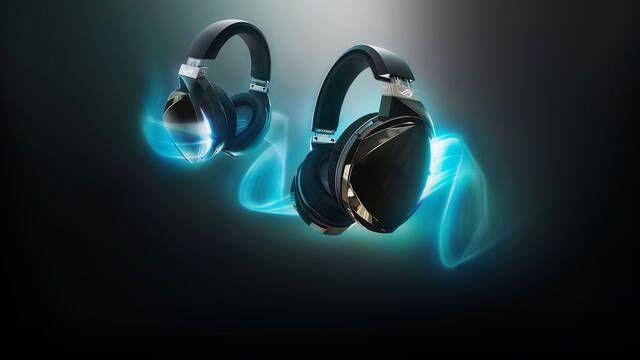ROG Strix Fusion 500, auriculares para gaming futuristas con 7.1 e iluminación RGB