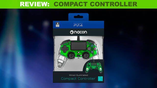 Análisis Nacon Compact Controller: Un buen segundo mando para PS4
