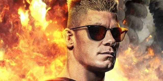 Imaginan cómo sería John Cena caracterizado como Duke Nukem