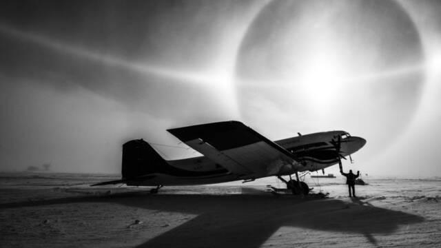 ¿Es ciencia ficción? No, es el cielo de la Antártida